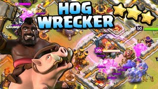 NEW HOG WRECKER | Town Hall 11 Attack Strategy | Clash of Clans