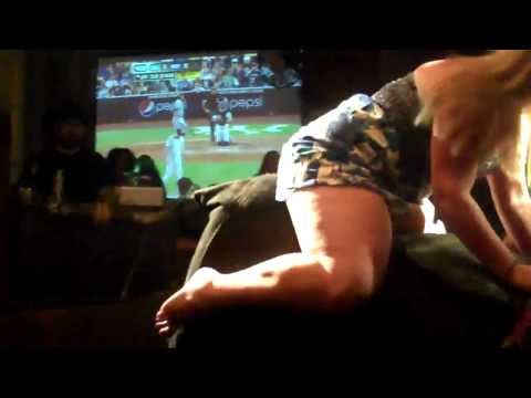 Blonde Pawg Thick Legs on a Bull -HD- from YouTube · Duration:  41 seconds