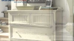 Paula Deen Home Steel Magnolia Platform Bedroom Set in Linen