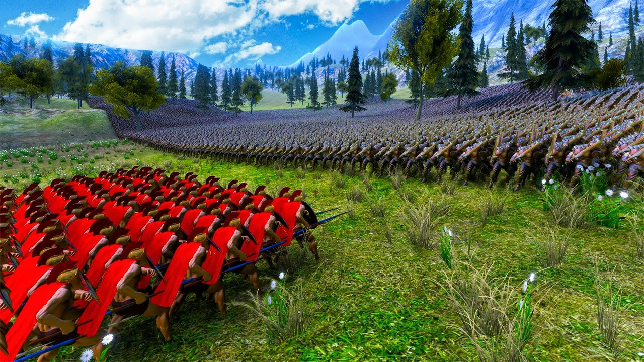 300-spartans-vs-100-000-orcs-ultimate-epic-battle-simulator
