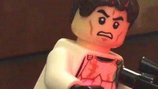 Star Wars Trash Compactor scene in LEGO