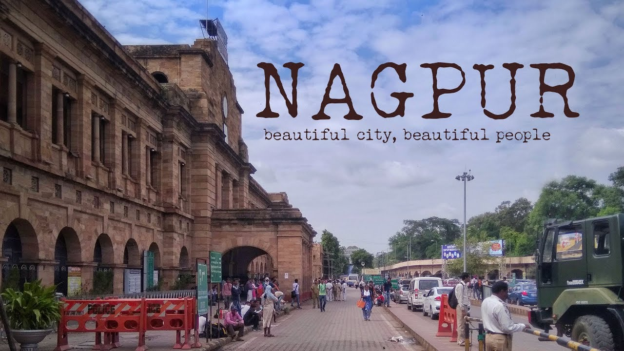 Nagpur City Map - Maps of India