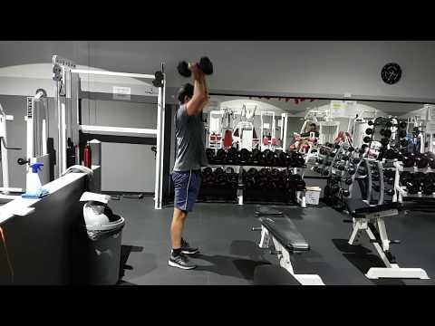 Fulla Strength and Conditioning- Trav Performing DB Thruster