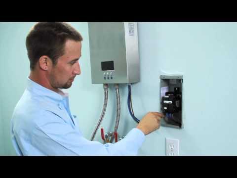 water heater element hookup