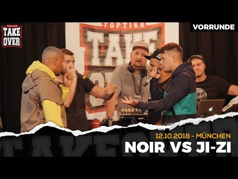 Noir vs. JI-ZI - Takeover Freestyle Contest | München 12.10.18 (VR 1/4)
