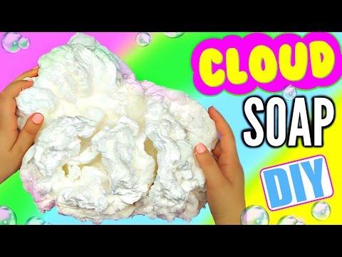 DIY CLOUD SOAP! Growing Soap!