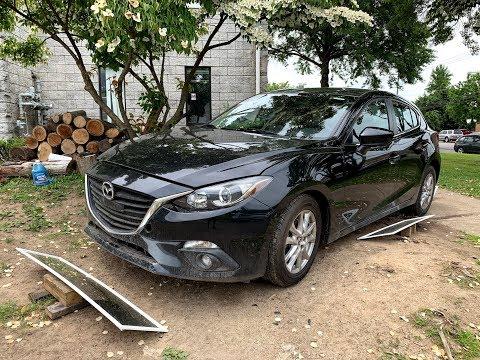 Страховой аукцион «иншуренс» Авто до 3000$. 2015 Mazda 3. Авто под ключ в Украину.