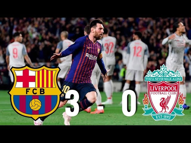Barcelona vs Liverpool [3-0], Champions League, Semi-Final 1st Leg, 2019 - MATCH REVIEW