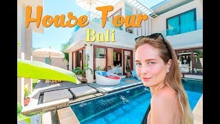 HOUSE TOUR OF OUR VILLA IN BALI! 🔥 Jane Virak