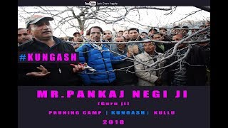 2018 | Mr. Pankaj Negi ji | Pruning Camp | KUNGASH | KULLU |  Lets Grow Apple