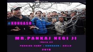 2018 | Mr. Pankaj Negi ji | Pruning Camp | KUNGASH | KULLU |  Lets Grow Apple