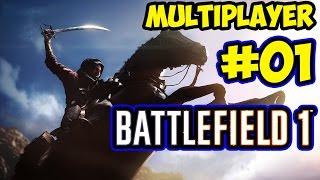 Battlefield 1 Beta / MultiPlayer / Oyuna Alışma Çabaları #01
