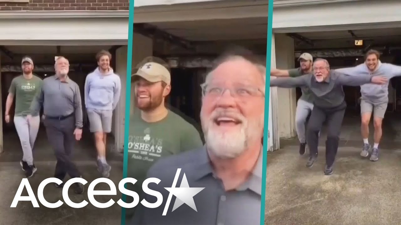 Dad & Sons Are Winning TikTok With Hilarious Dance Routines