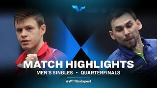 Tomas Polansky vs Kirill Skachkov | WTT Contender Budapest 2021 (1/4)