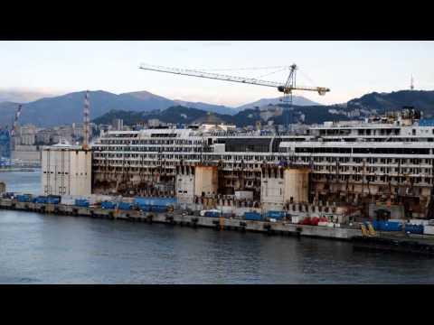 The Raising Of The Costa Concordia Doovi