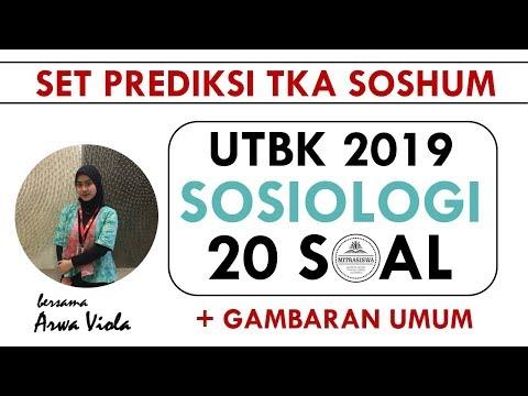 UTBK 2019 I TKA SOSHUM I SOSIOLOGI