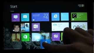 Windows 8 Tutorials - The Basics (Touch)