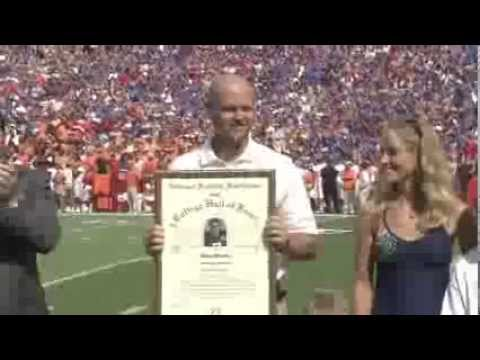 Danny Wuerffel Honored at Florida vs Tennessee Game