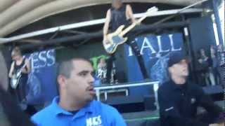 Blessthefall @ Vans Warped Tour 2012 SF