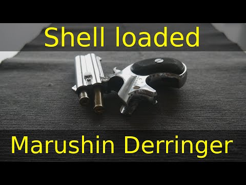 [Airsoft Tips & Projects] - Shell loaded Marushin Derringer!?