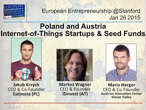 Poland & Austria - Estimote & i5invest - Internet-of-Things & Seed Funds - Jan 26 2015