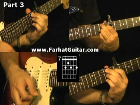 Hotel California - The Eagles Guitar Lessons www.Farhatguitar.com