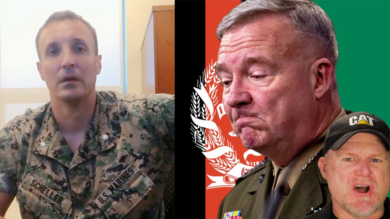 Marine officer who criticized senior leaders on Afghanistan is now in ...