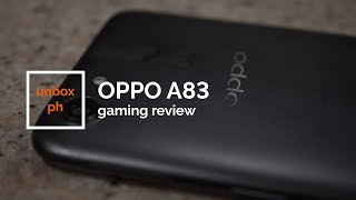 OPPO A83 Gaming Review