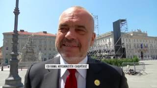 Samiti për Ballkanin, Merkel përgëzon Ramën  - Top Channel Albania - News - Lajme