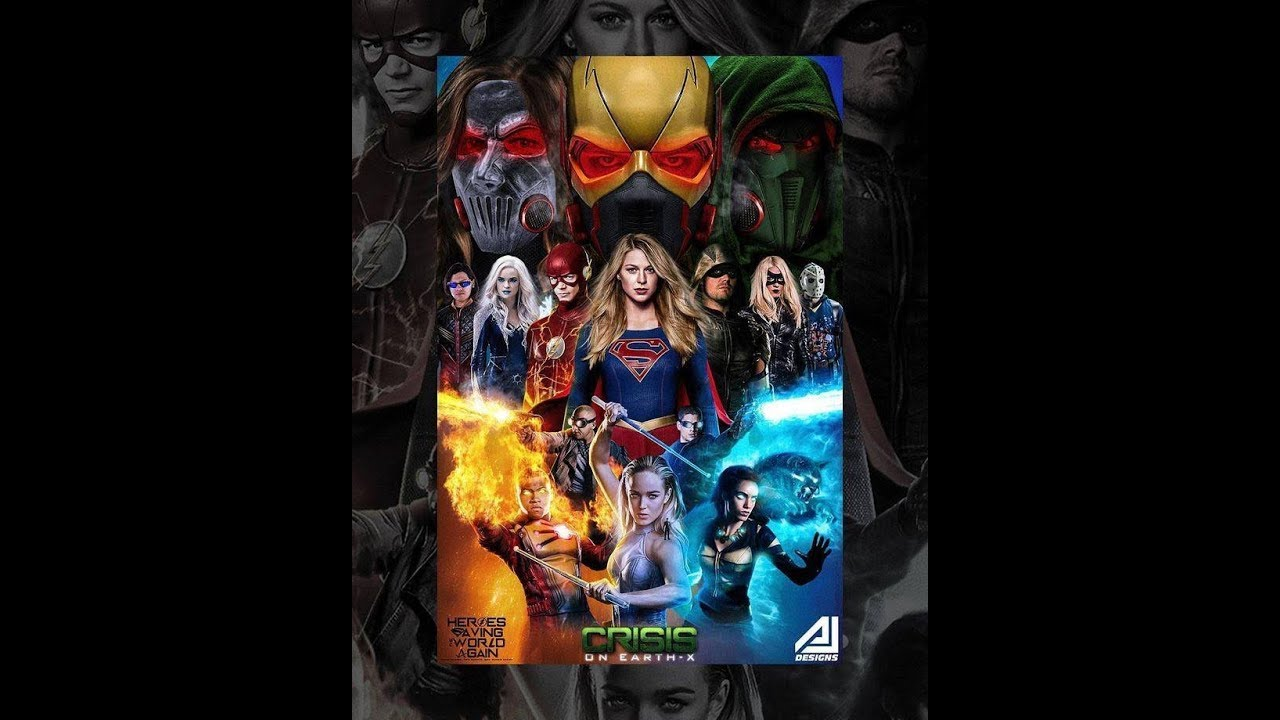 Download DCTV Crisis on Earth-X Crossover Full Trailer
