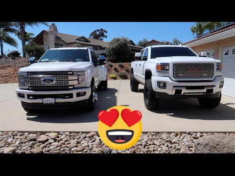HOW CAN THIS 19 YEAR OLD AFFORD THIS F350 PLATINUM!!!