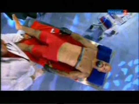 удар боксёра после 2 уколов адреналина.