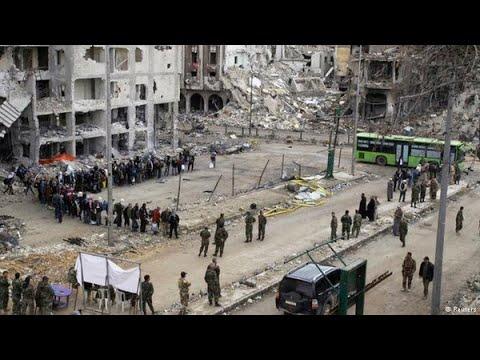 مناشير للنظام السوري تدعو المدنيين لمغادرة ريفي حمص وحماة  - نشر قبل 15 دقيقة