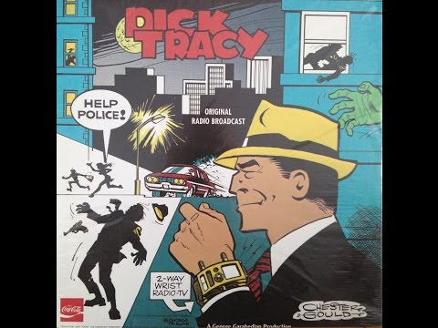 Dick Tracy RADIO SHOWS Mark 56 #589 FULL ALBUM Chester Gould