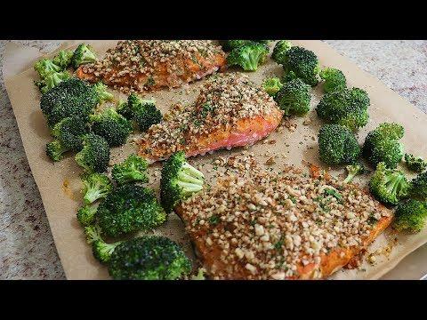 Maple Pecan Crusted Salmon Recipe