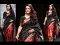 Preity Zinta Ramp Walk In Traditional Saree At Lakme Fashion Week 2017 !!