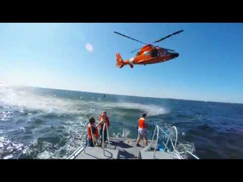 AIR-SEA RESCUE TRAINING - GoPro HD (Helicopter Rescue Basket Hoist)