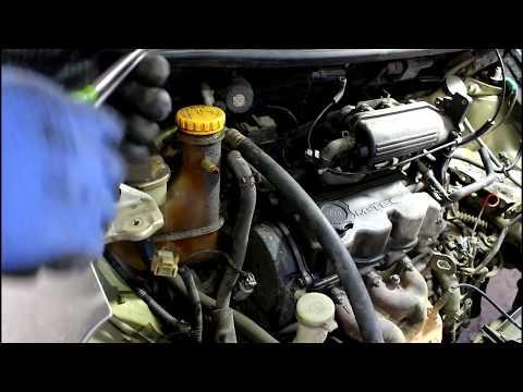 Замена двигателя  Daewoo Matiz  Дэу Матиз 0,8 автомат 2007 года  2часть