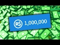 WINNING MILLIONS IN ROBLOX!!