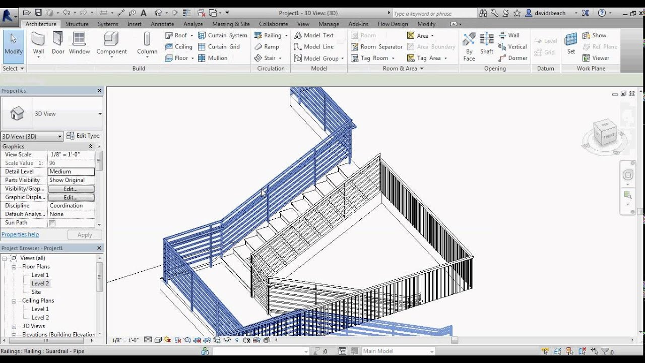 Revit Stairs Youtube