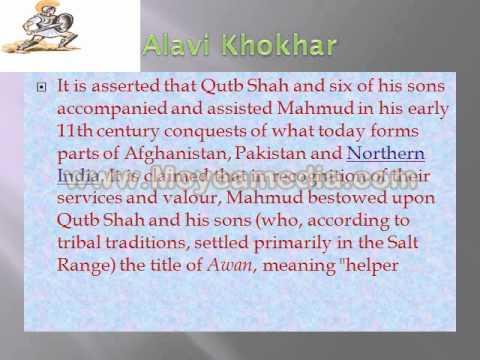Qutab shahi khokhar/Alavi khokhar/Khokhar Rajput