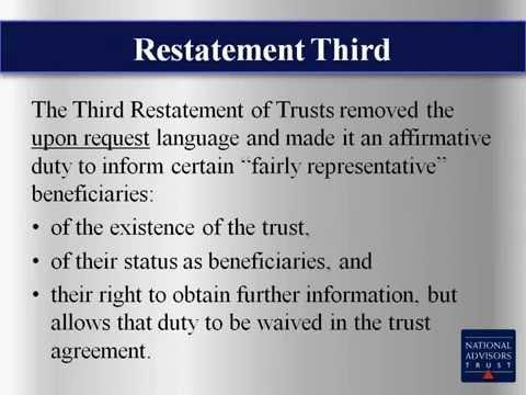 Trust Education: Double Secret Trusts (July 2013 )