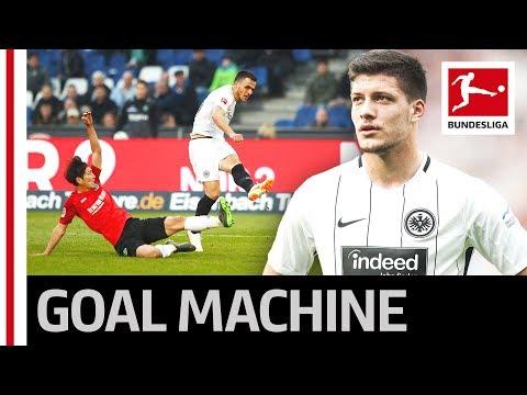 Luka Jovic Scores Again - Bundesliga's Top Scorer now on 15 Goals