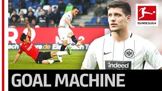 Frankfurt's luka jovic - match-winner at hannover with one goal and two assists, ► sub now: https://redirect.bundesliga.com/_bwcs, thanks to a brilliant performance from jovic, eintracht ...
