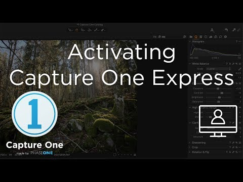 Activating Capture One Express | Tutorial | Capture One 12 thumbnail