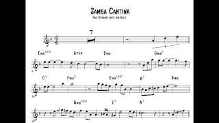 Samba Cantina - Paul Desmond (Easy Saxophone Solo Transcription)