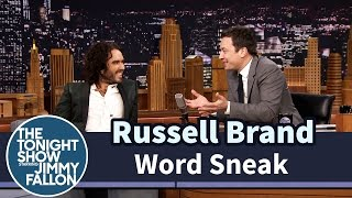 Word Sneak with Russell Brand