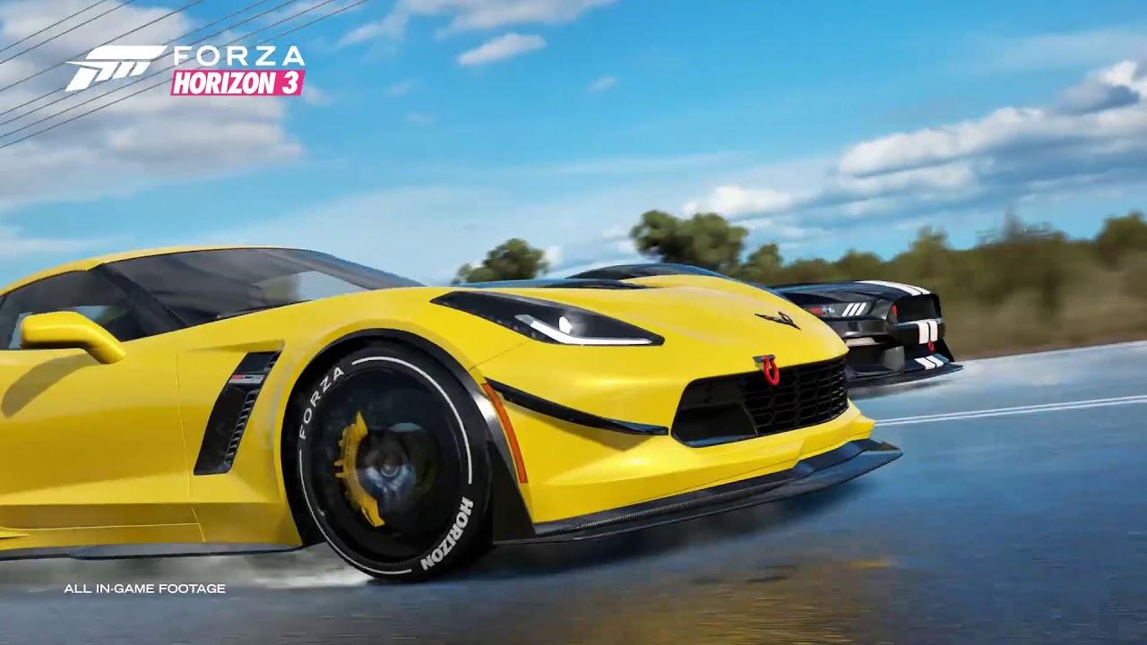 Forza Horizon 3 скачать торрент бесплатно RePack by xatab