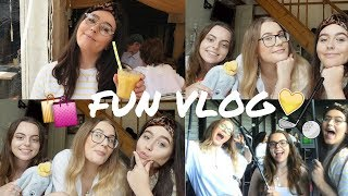 FUN VLOG | Top Golf, Waffle House & Shopping in St Albans!