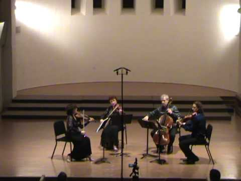 St.Petersburg Quartet,Tchaikovsky,The Valse, Beloit  March 2009.MPG